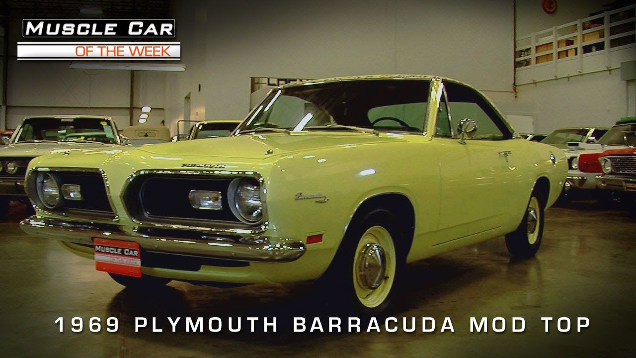 Muscle Car Of The Week Video Episode #96: 1969 Plymouth Barracuda ...