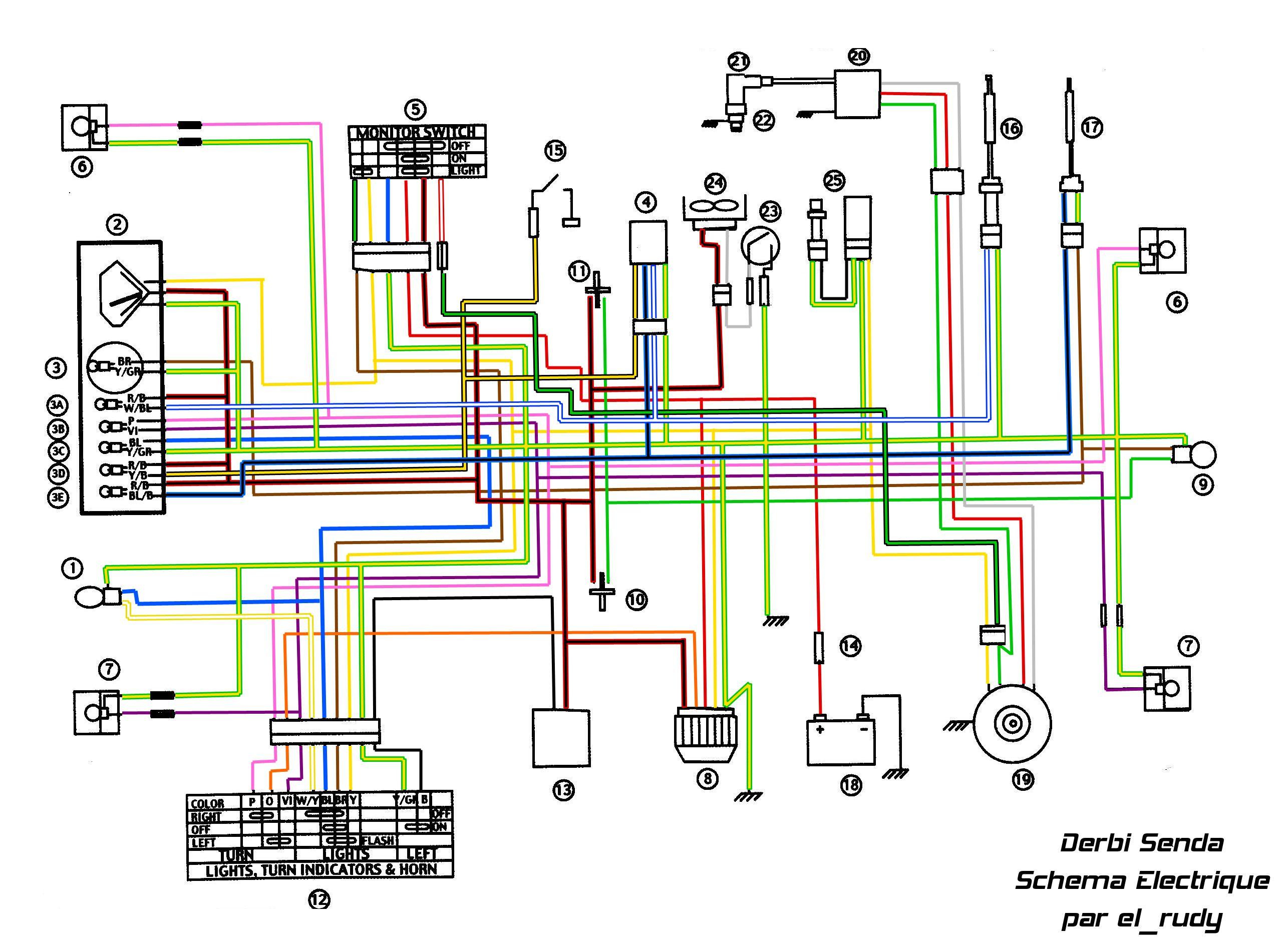 Indicator Flasher Relay For Derbi Senda 50 SM DRD Pro 2008