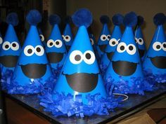 cookie monster party Pinteres