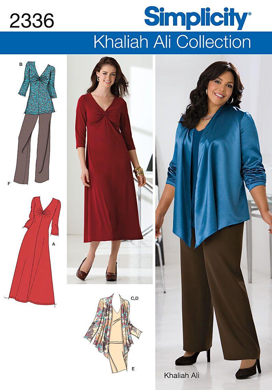№ 1/11 Simplicity Simplicity Misses\' & Plus Size Sportswear 2336 ...