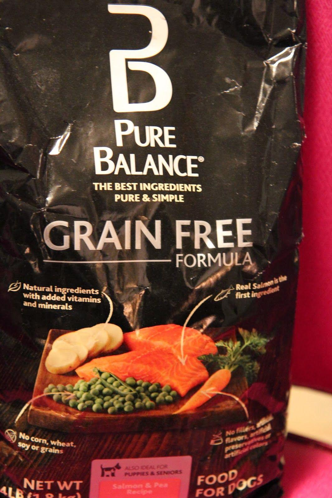We Give Grain Free Pure Balance Dog Food A Try Grain Free Dog