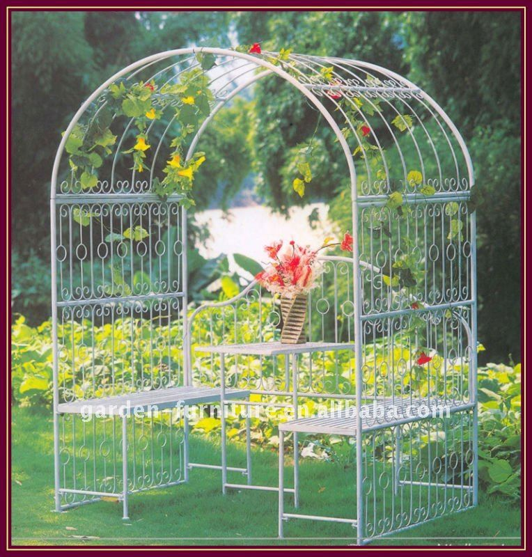 Metal Arbor With Gate | Metal Garden Arbor With Gate   Buy Metal Garden  Arbor,