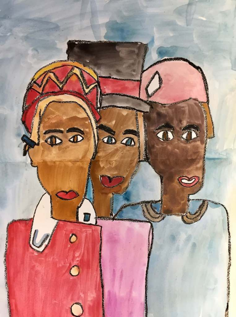 Paintings inspired by william h johnson corbie arts