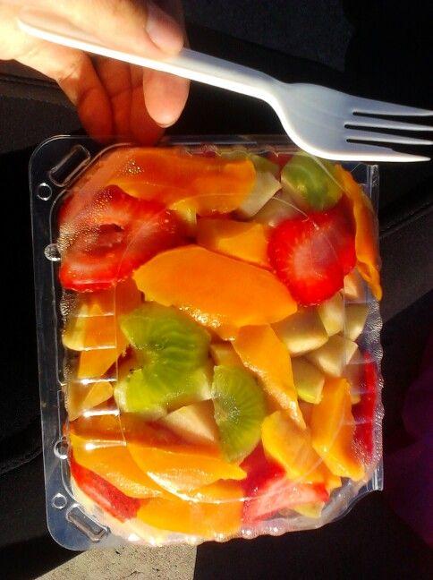 Dieta de sandia melon y papaya