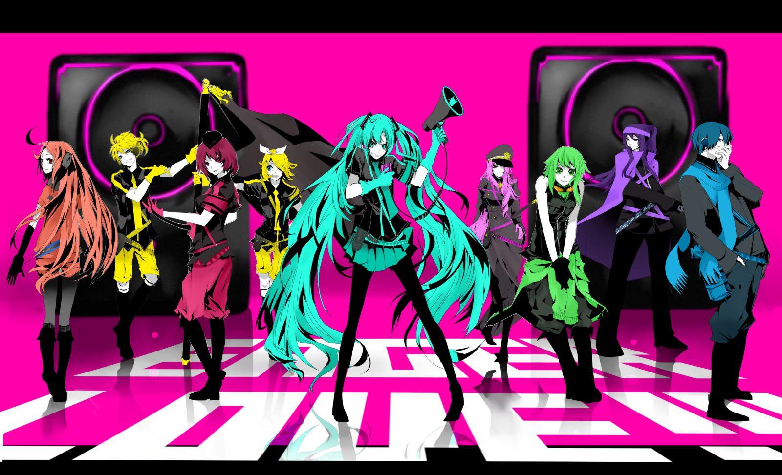 Anime Vocaloid Love Is War Song Illustration Miku Hatsune
