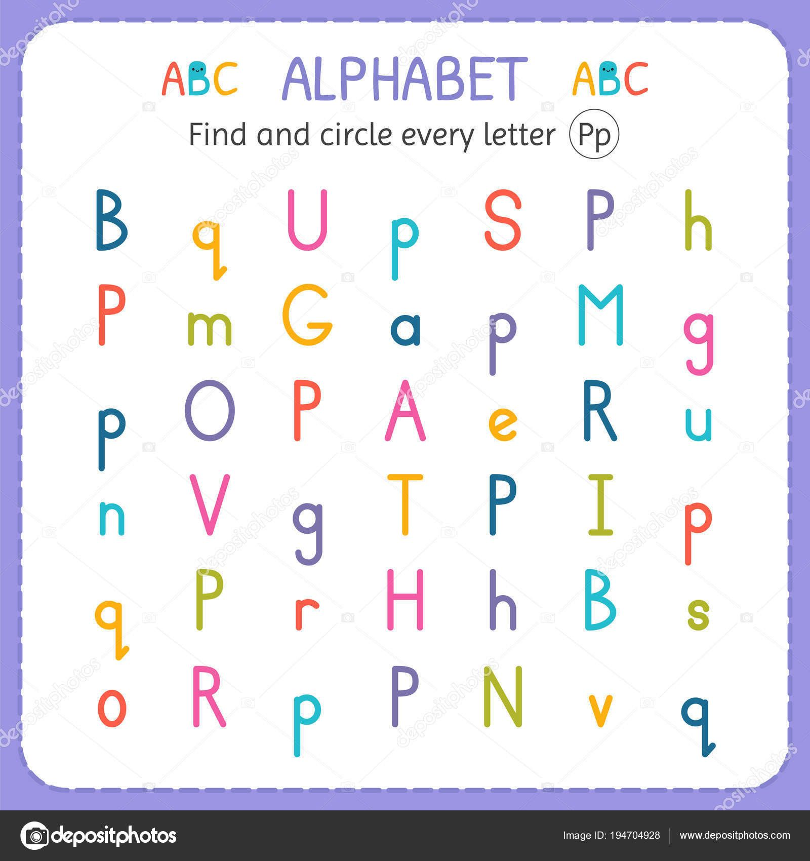 50 Letter P Worksheets For Preschool Wf4k Di