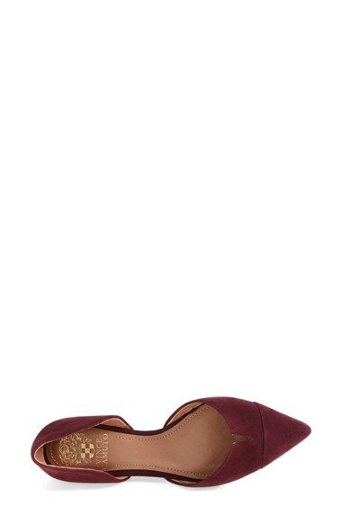Vince Camuto 'Halia' d'Orsay Pointy Toe Flat (Women)   Nordstrom
