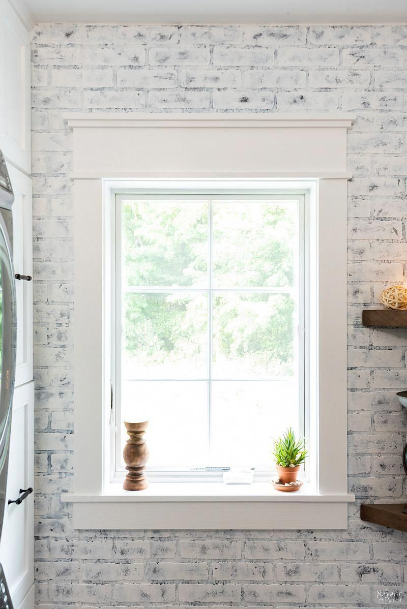 Diy Craftsman Style Trim For Windows And Doors Diy Window Trim Interior Window Trim Farmhouse Trim