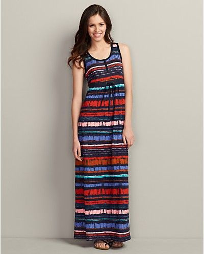 Eddie bauer henley maxi dress