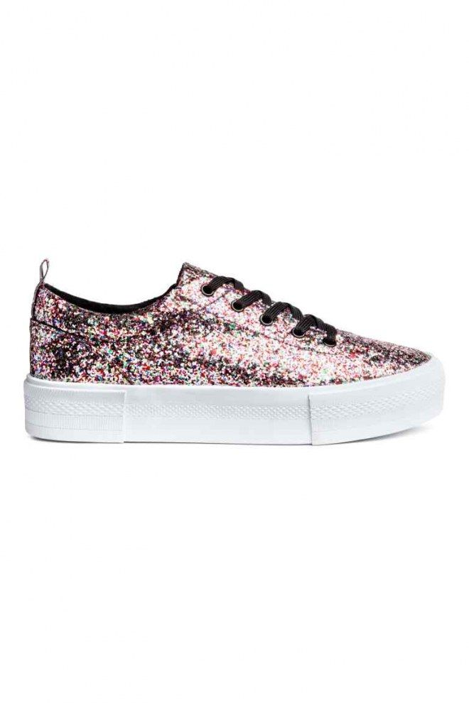 334486422af7a2 Tendance glitter : on aime tout ce qui brille ! | Zapatos | Sneakers ...