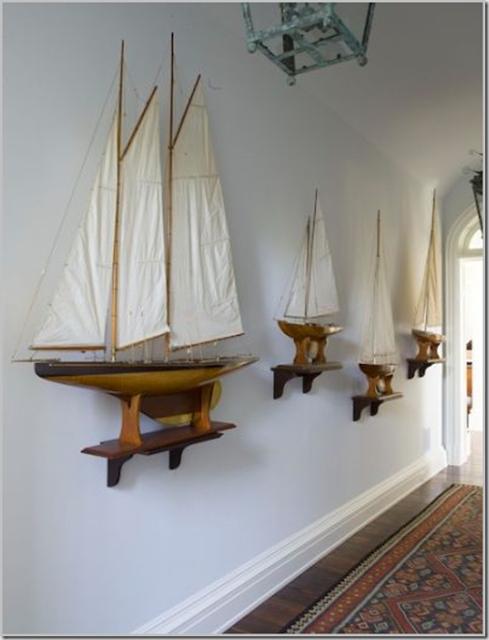 Photo of Model Ships and Nautical Decor for Interior Design | Nautical Handcrafted Decor …