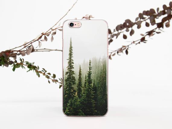 Trees n Fog Samsung S10 Case