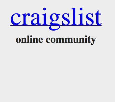 Vertrags-Craigslist