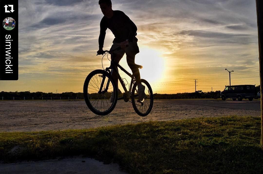 #Repost @simwickli  How to get over a hump day...jump it.  #Reckless #dhino #d3300 #flaglerbeach #flaglercollege #bikestaugustine #velofest #fitstaug #staugustinebuzz #floridahistoriccoast #Repost #fcsoccer #fcathletics  #staugustine #bicycles #bikeeveryday #bikestaugustine by bikestaugustine