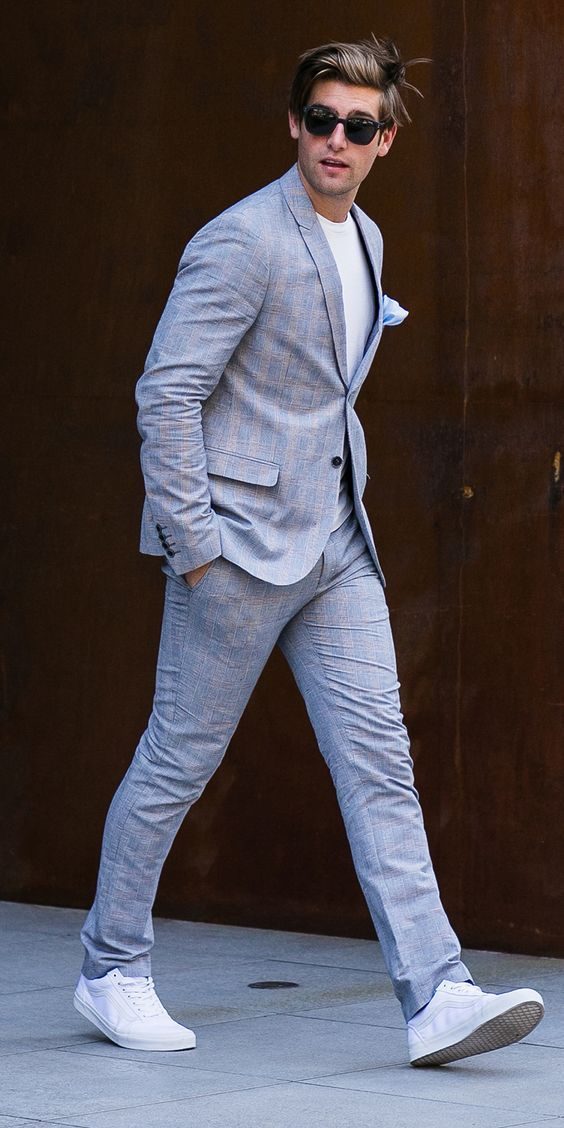 Men Suits With Sneakers 20