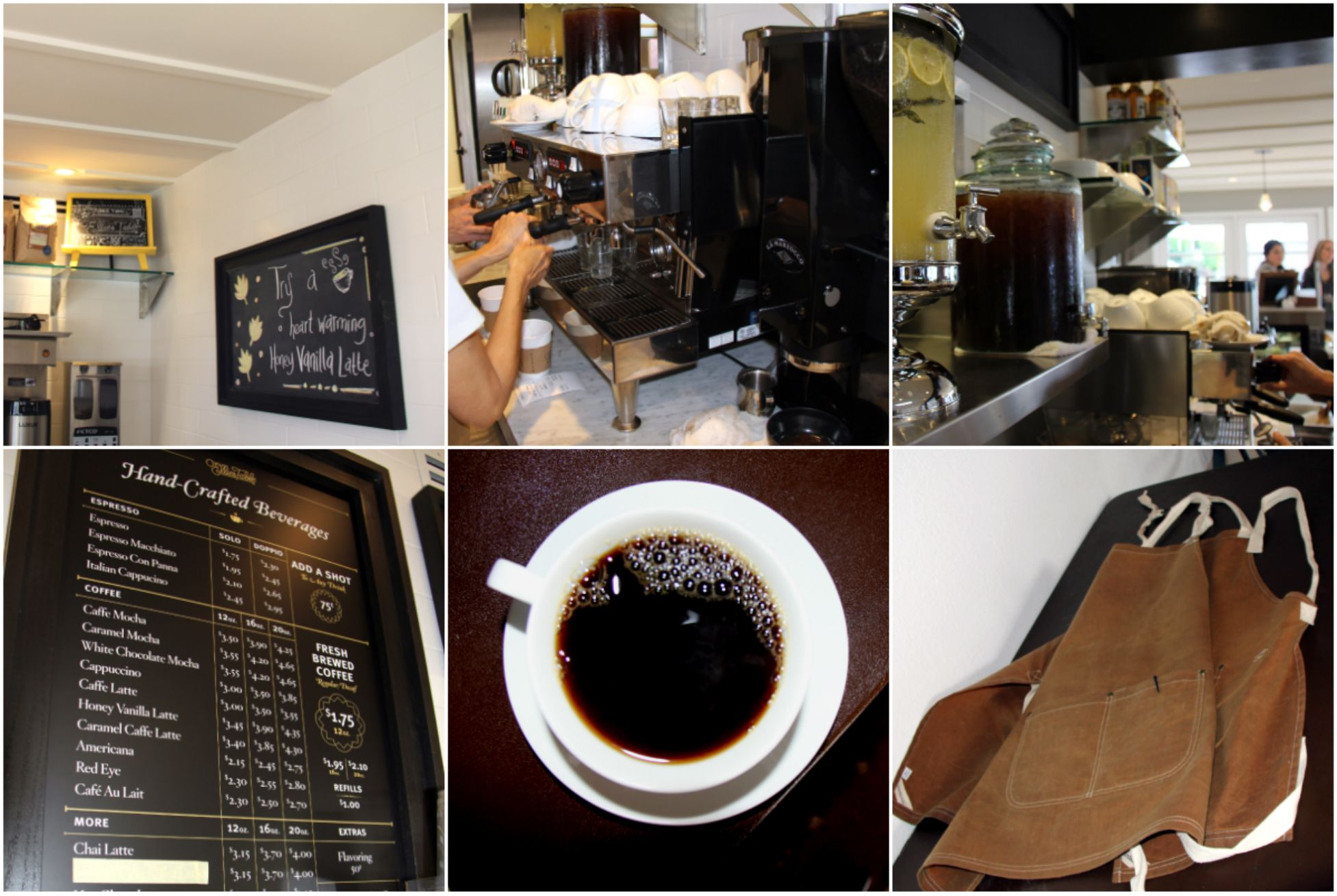 Hot, cold, coffee, tea--we do it all!