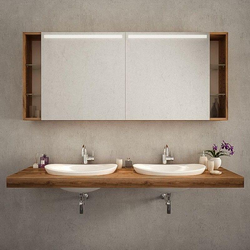 Led Spiegelschrank Nach Mass Kaufen Genua Mit Bildern Badezimmer Spiegelschrank
