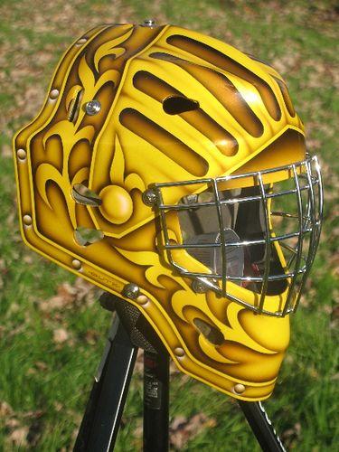 Just Finished Goalie Mask Goalie Hockey Mask