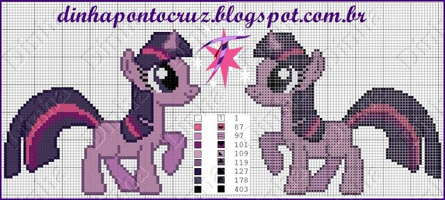 Pin de Dinha Ponto Cruz en my little pony ponto cruz | Pinterest ...