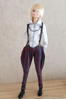 red and blue checked breeches   Flickr - Photo Sharing!