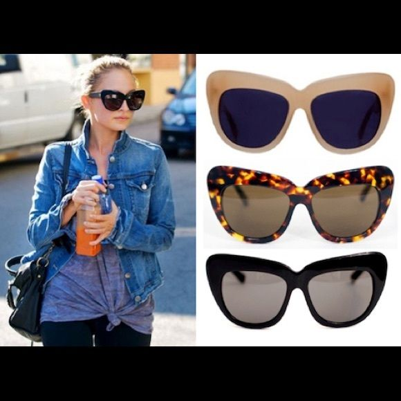 House of Harlow cat eye sunglasses Overall good condition minor signs of wear Accessories Sunglasses