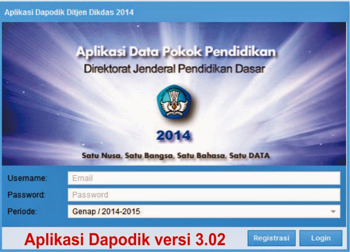 Download Aplikasi Dapodik Versi 3 02 Pendidikan Aplikasi Pendidikan Dasar