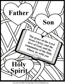 coloring pages of holy spirit - photo#35