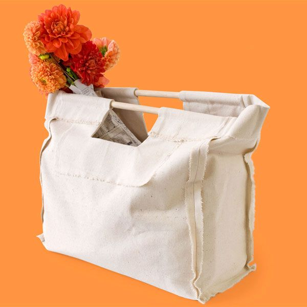 canvas tote bag tutorial and free pattern transform a canvas drop cloth into this stylishly