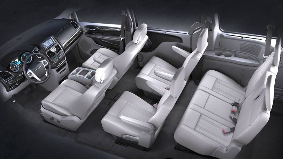 The Interior Of The 2013 Chrysler Town And Country Is Both