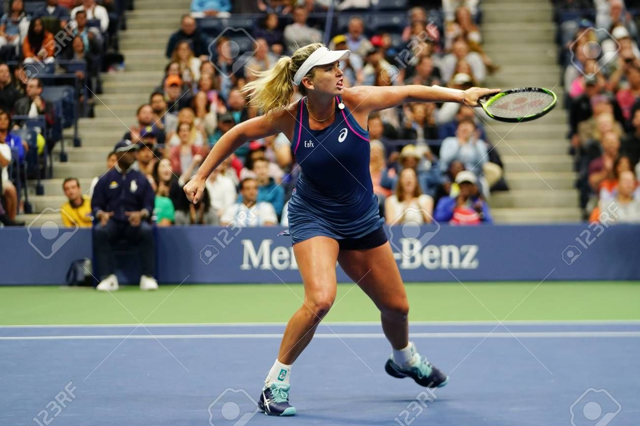 New York September 9 2018 2018 Us Open Women S Doubles Champion Coco Vandeweghe Of United States In Action During F In 2020 Billie Jean King Tennis Center Champion