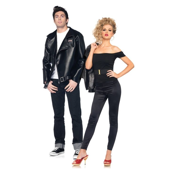grease danny sandy couples costume for mom and dad on halloween - Greece Halloween Costumes