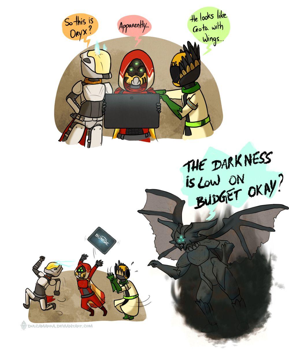 Oh Orix Destiny Game Destiny Bungie Destiny Comic