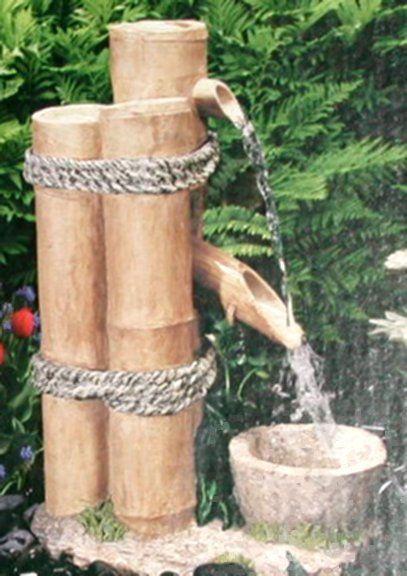 Bamboo Water Fountain Bamboo Water Fountain Bamboo