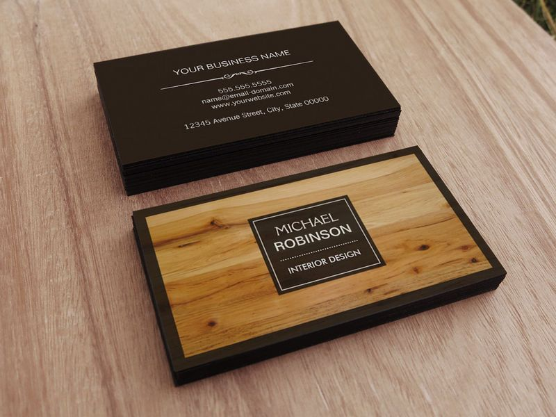 Elegant And Traditional Business Cards