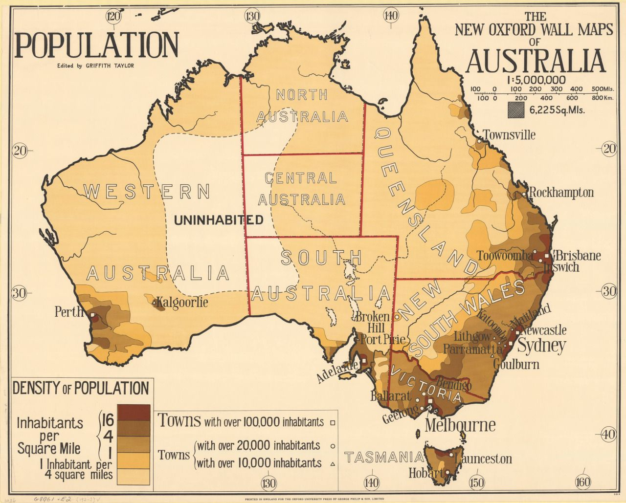 Population density map of australia 1920s maps on the web population density map of australia 1920s maps on the web gumiabroncs Image collections