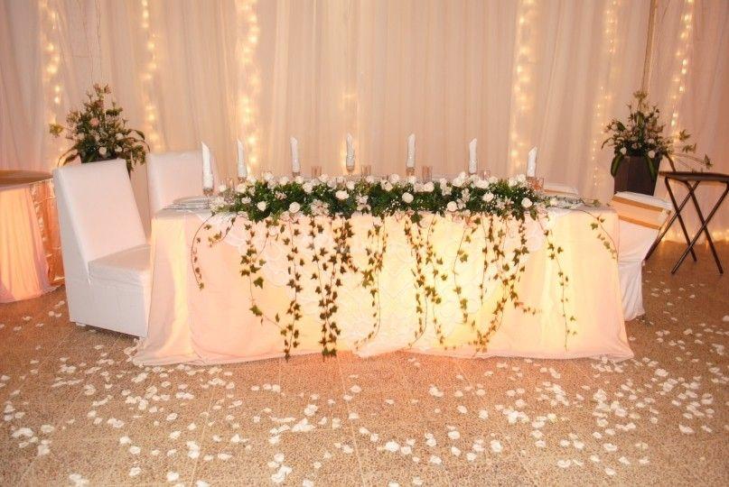 Mesa principal boda (con imágenes) | Mesas principales de boda ...