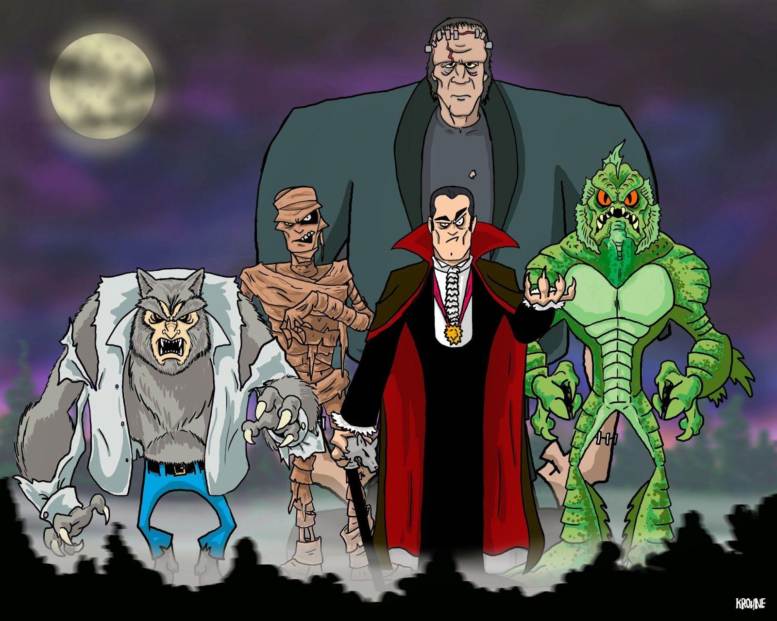 The Monster Squad Monster Squad Horror Characters Monster