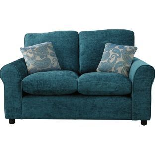 Tabitha Fabric Regular Sofa Teal At Argos Co Uk Your Online