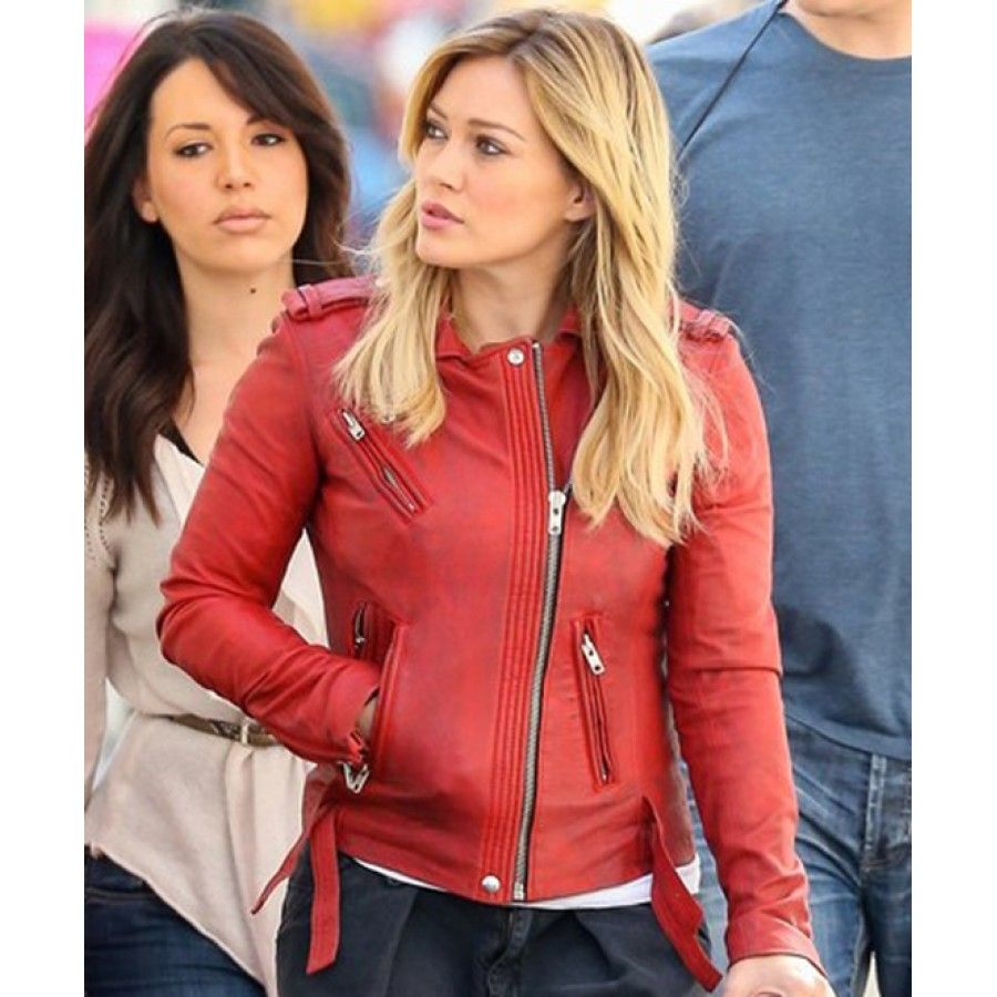 womens-red-leather-jacket- | Red Leather Jacket | Pinterest | Red ...