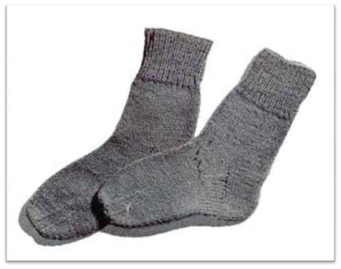 Classic Socks Knitting Pattern 1649 Socks Pinterest Knitting