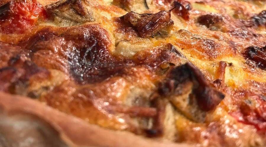 Tarta Integral De Berenjenas Cherrys Y Pollo Recetas Cocineros Argentinos Berenjenas En Escabeche Recetas De Comida Comida