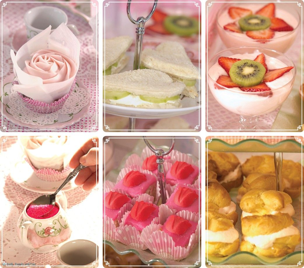 Princess Tea Party Decor To Party Games From Table