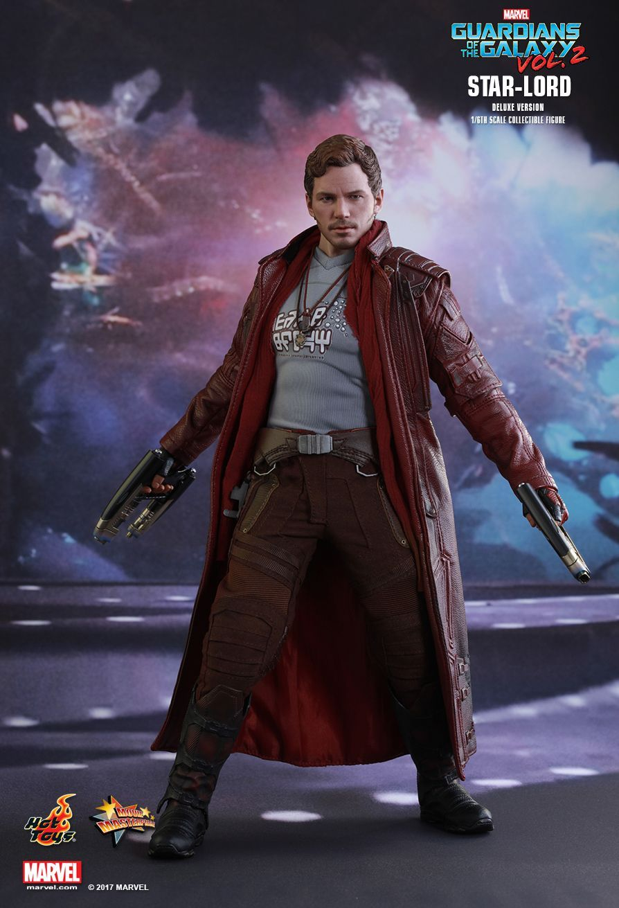 Hot Toys Guardians Of The Galaxy Vol 2 Star Lord Deluxe 1 6