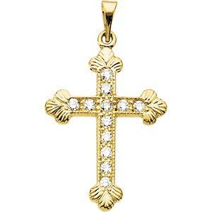 Elegant and Stylish 22.50X16.50 MM Cross Pendant with Diamond in 14K White Gold, 100% Satisfaction Guaranteed. - http://www.specialdaysgift.com/elegant-and-stylish-22-50x16-50-mm-cross-pendant-with-diamond-in-14k-white-gold-100-satisfaction-guaranteed/
