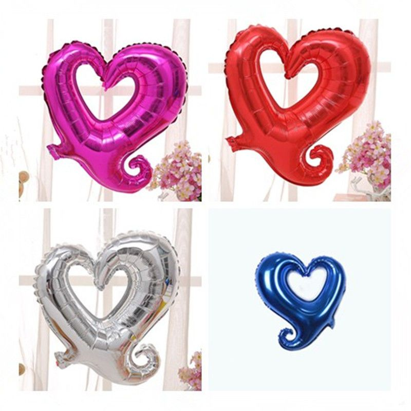 4pc Heart Shape 18 Foil Helium Birthday Party Supplies Wedding Decor Balloons Unbranded Anniversary Birthday Party Supplies Balloons Party Supplies