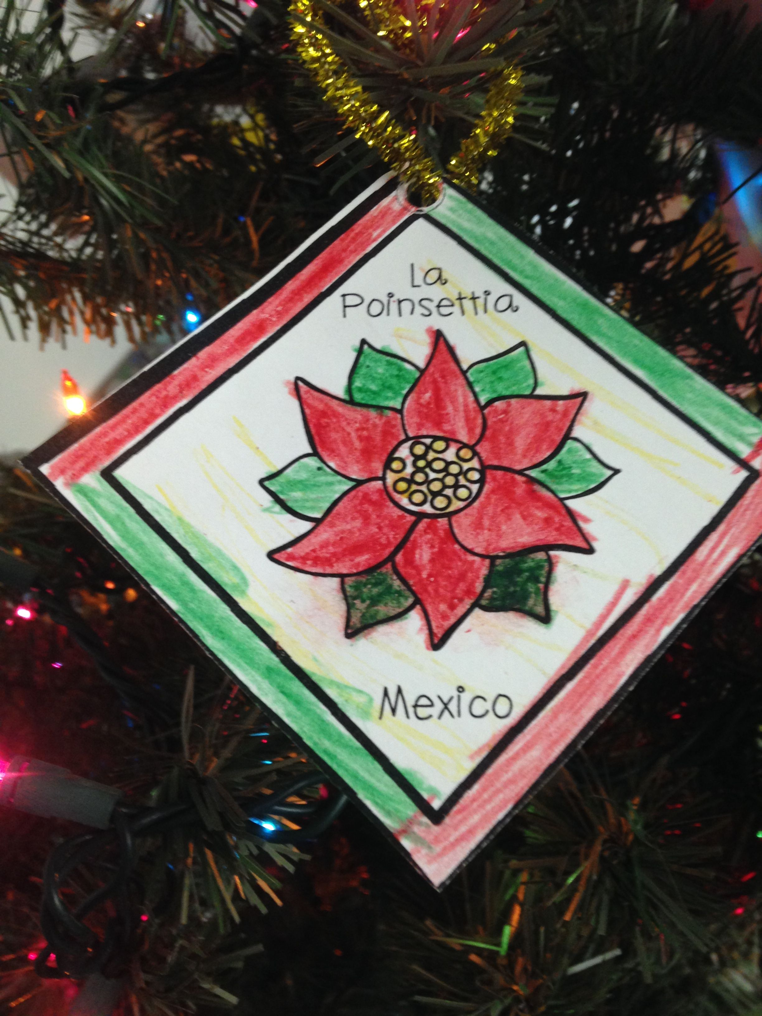 Christmas Around The World Ornaments Christmas Kindergarten Preschool Christmas Mexico Christmas