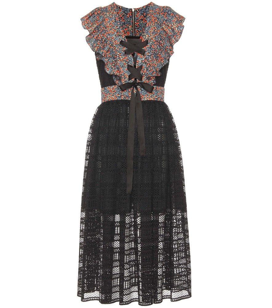 Sale View Lace cotton-blend dress Philosophy di Lorenzo Serafini Get Authentic Discount 2018 Unisex Sale Visit Sale Original 1CscW