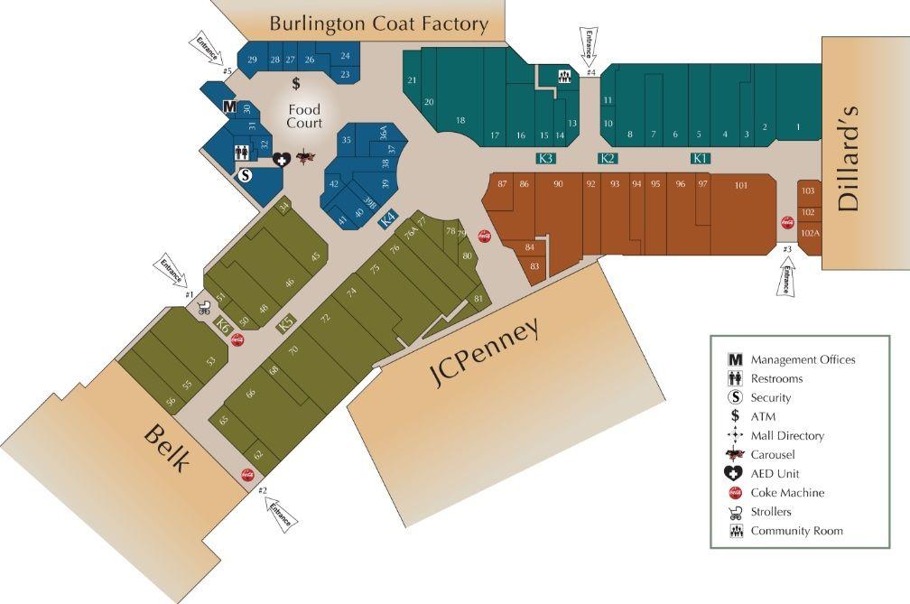 Wiregrass Commons Mall Shopping Plan Mall Burlington Coat