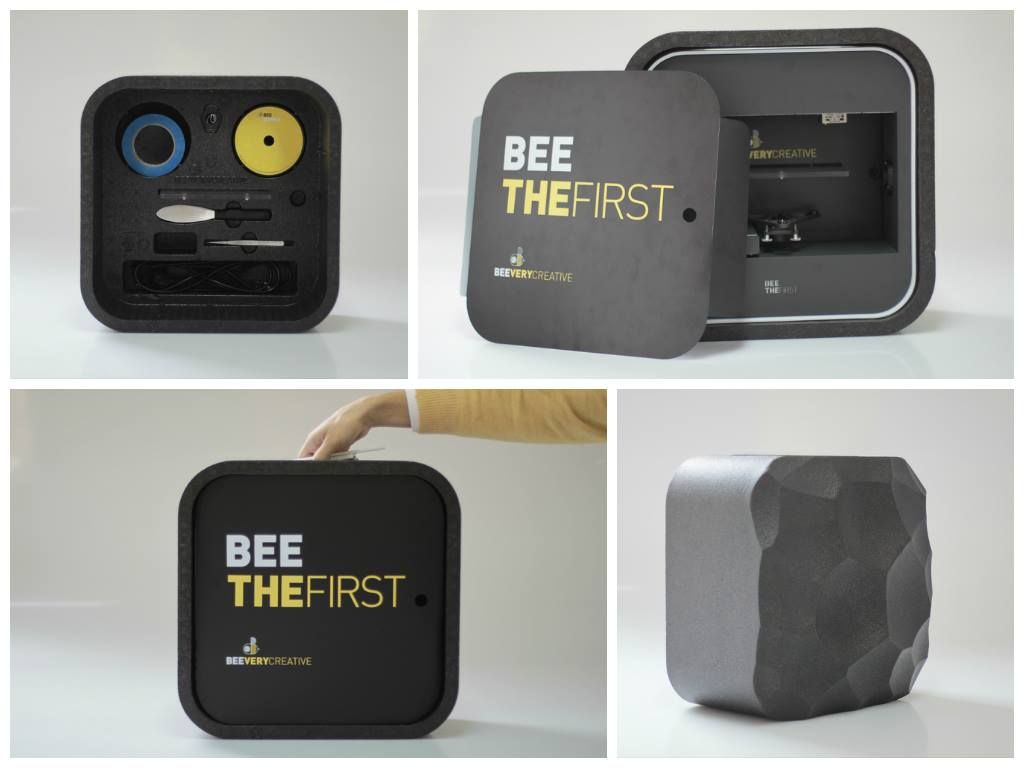 De BEETHEFIRST wordt standaard geleverd met de BEEPACK. Neem je 3D-printer makkelijk mee naar waar je ook maar wil werken.