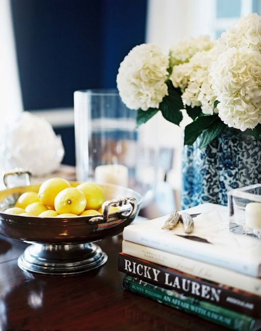 Coffee table styling via a tablescape tumblr with many tablescape ideas